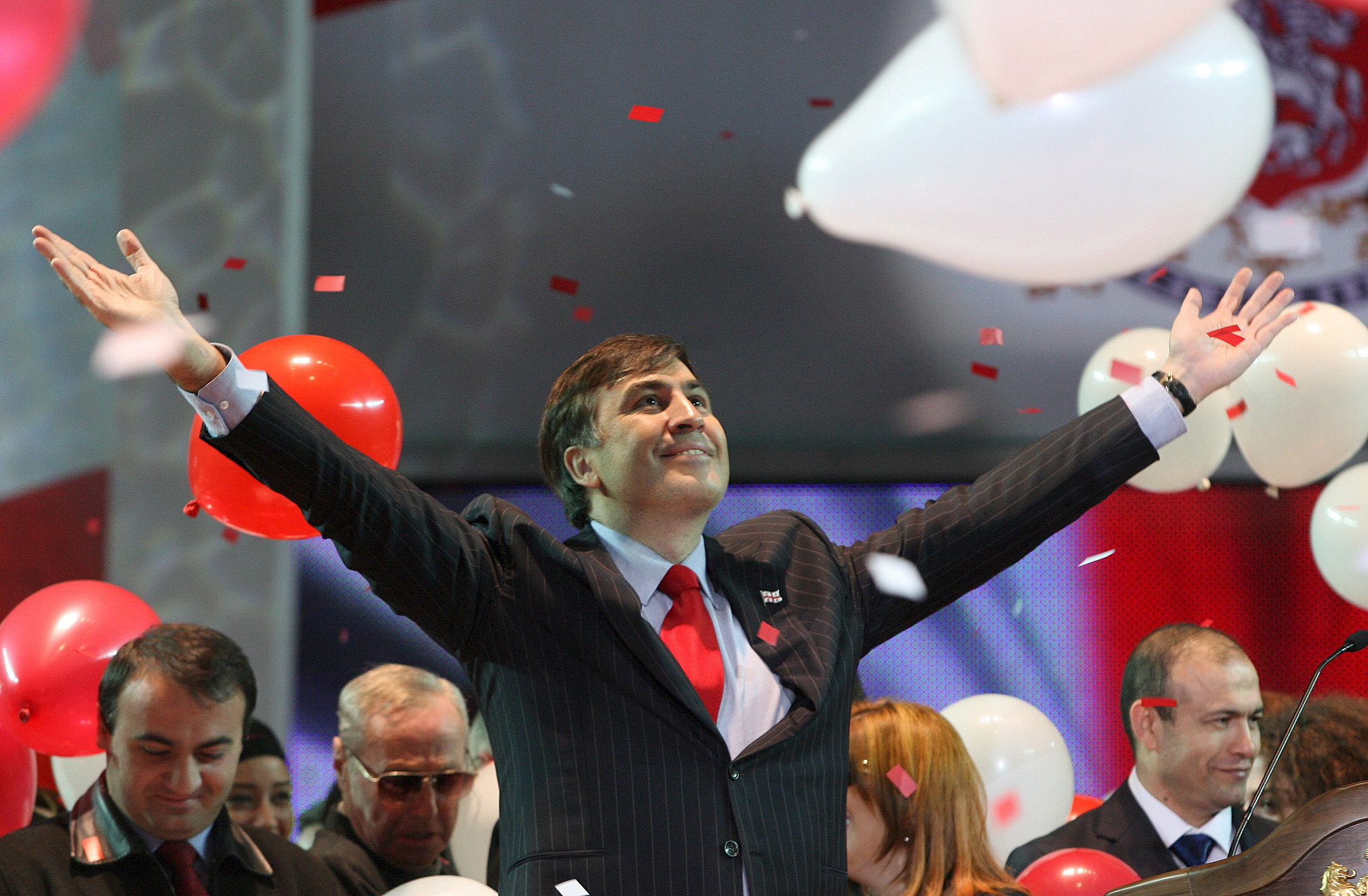 The Dramatic Rise and Fall of Mikheil Saakashvili